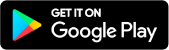 This is an image of the Google Play Get It On Badge in Black (US)